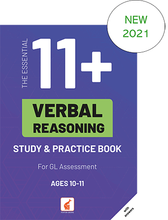 The essential 11 plus verbal reasoning front cover