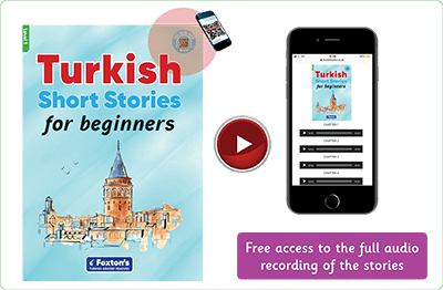 Turkish Short Stories for Beginners - video playe ile